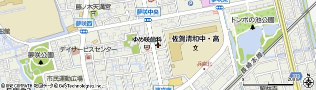 佐賀県佐賀市兵庫北周辺の地図