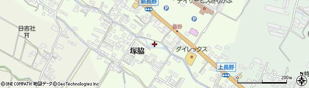 大分県玖珠郡玖珠町塚脇607周辺の地図