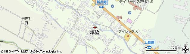 大分県玖珠郡玖珠町塚脇763周辺の地図