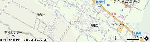 大分県玖珠郡玖珠町塚脇841周辺の地図
