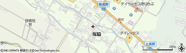 大分県玖珠郡玖珠町塚脇761周辺の地図