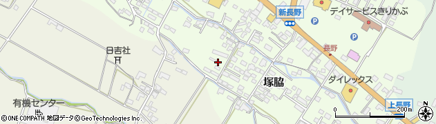 大分県玖珠郡玖珠町塚脇608周辺の地図