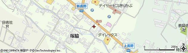 大分県玖珠郡玖珠町塚脇736周辺の地図