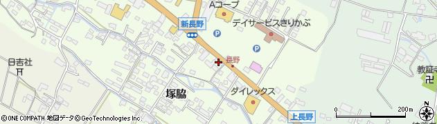 大分県玖珠郡玖珠町塚脇617周辺の地図
