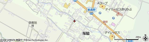 大分県玖珠郡玖珠町塚脇746周辺の地図