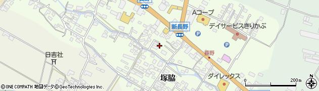 大分県玖珠郡玖珠町塚脇559周辺の地図