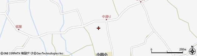 大分県玖珠郡玖珠町小田966周辺の地図