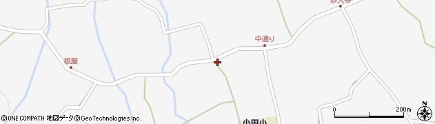 大分県玖珠郡玖珠町小田963周辺の地図