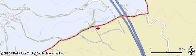 大分県玖珠郡九重町松木262周辺の地図