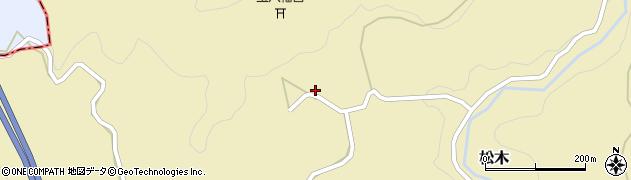 大分県玖珠郡九重町松木1328周辺の地図