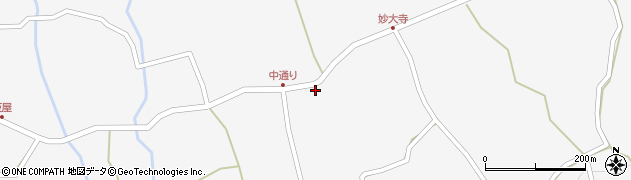 大分県玖珠郡玖珠町小田908周辺の地図