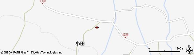 大分県玖珠郡玖珠町小田1946周辺の地図