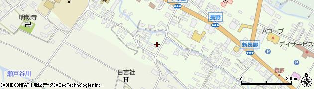 大分県玖珠郡玖珠町塚脇中塚脇周辺の地図