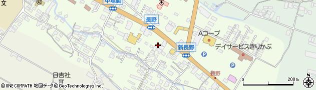 大分県玖珠郡玖珠町塚脇552周辺の地図