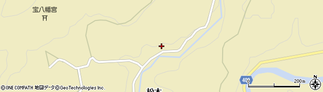 大分県玖珠郡九重町松木1398周辺の地図