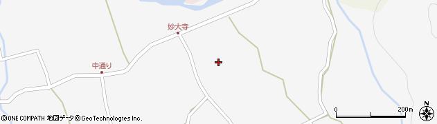 大分県玖珠郡玖珠町小田713周辺の地図