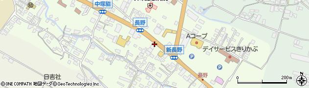 大分県玖珠郡玖珠町塚脇550周辺の地図