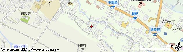 大分県玖珠郡玖珠町塚脇567周辺の地図