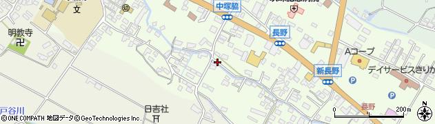 大分県玖珠郡玖珠町塚脇474周辺の地図