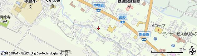 大分県玖珠郡玖珠町塚脇450周辺の地図