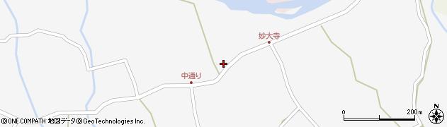 大分県玖珠郡玖珠町小田898周辺の地図