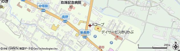 大分県玖珠郡玖珠町塚脇647周辺の地図