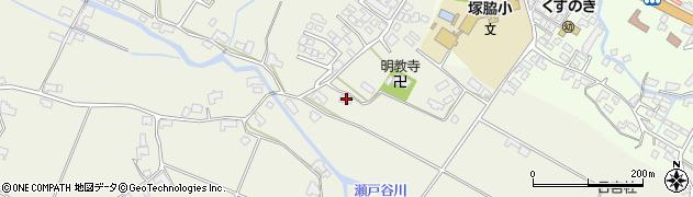 大分県玖珠郡玖珠町山田402周辺の地図