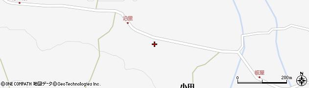 大分県玖珠郡玖珠町小田2046周辺の地図