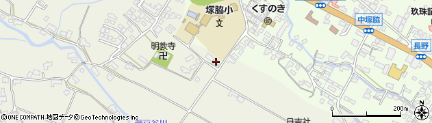 大分県玖珠郡玖珠町山田429周辺の地図
