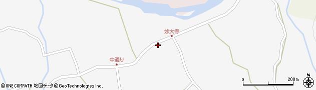大分県玖珠郡玖珠町小田753周辺の地図