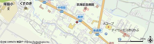 大分県玖珠郡玖珠町塚脇545周辺の地図