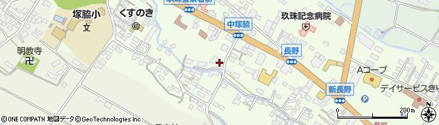 大分県玖珠郡玖珠町塚脇475周辺の地図