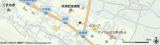 大分県玖珠郡玖珠町塚脇626周辺の地図