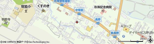 大分県玖珠郡玖珠町塚脇453周辺の地図
