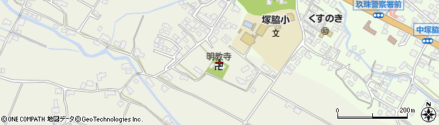 大分県玖珠郡玖珠町山田351周辺の地図