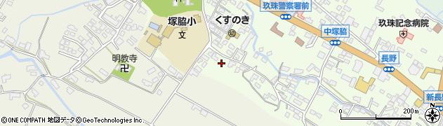 大分県玖珠郡玖珠町塚脇253周辺の地図