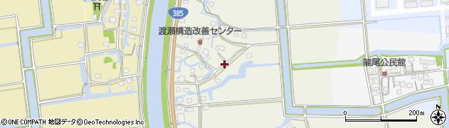 佐賀県神埼市千代田町渡瀬周辺の地図