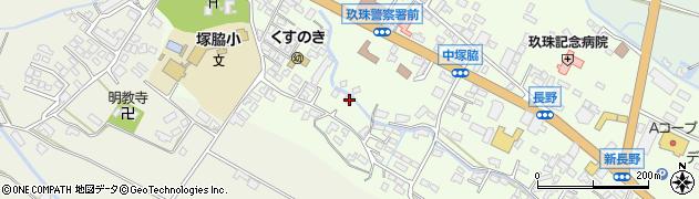 大分県玖珠郡玖珠町塚脇534周辺の地図
