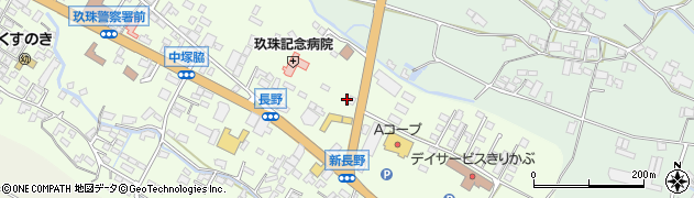 大分県玖珠郡玖珠町塚脇643周辺の地図