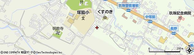 大分県玖珠郡玖珠町塚脇252周辺の地図