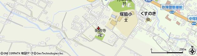 大分県玖珠郡玖珠町山田今村周辺の地図