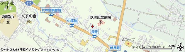 大分県玖珠郡玖珠町塚脇635周辺の地図