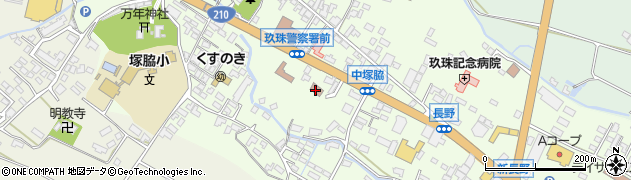 大分県玖珠郡玖珠町塚脇472周辺の地図