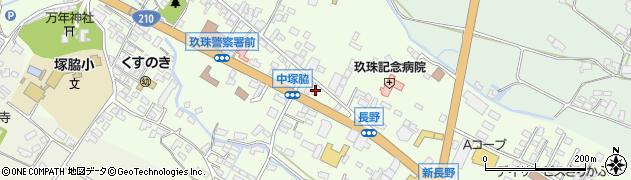 大分県玖珠郡玖珠町塚脇445周辺の地図