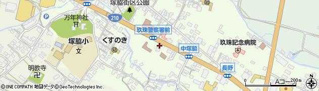 大分県玖珠郡玖珠町塚脇465周辺の地図