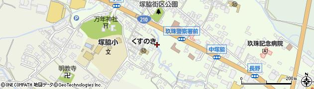 大分県玖珠郡玖珠町塚脇489周辺の地図