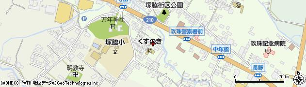 大分県玖珠郡玖珠町塚脇488周辺の地図