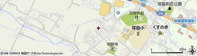 大分県玖珠郡玖珠町山田362周辺の地図