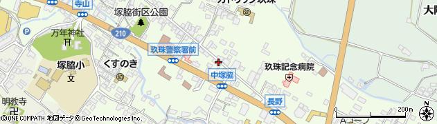 大分県玖珠郡玖珠町塚脇459周辺の地図