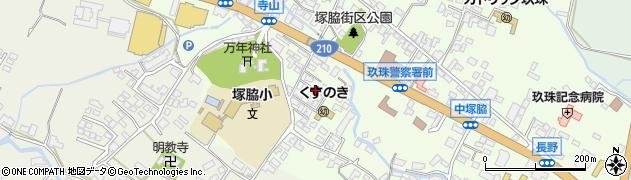 大分県玖珠郡玖珠町塚脇263周辺の地図
